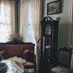 Front parlor, shared space