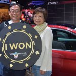 Chris and his wife won his and her 2018 Audi A5s at San Manuel Casino on Feb. 8, 2018.