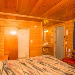 Queen Log Cabin Pet Friendly