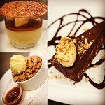 New desserts on the evening menu