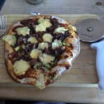 Duck and hoi sin flatbread