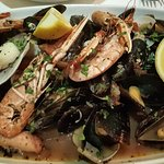 Wonderful shellfish platter to share.