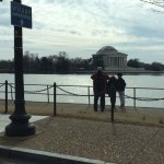 Jefferson Memorial from Maine Ave.