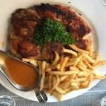 Roast Chicken with frites