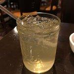 Asian ginger mango soda