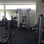 More workout machines, well equipped gym, latest equipment