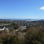 Rotorua from the lookout on the Pohaturoa track