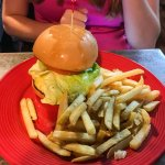 Huge, Delicious Burger