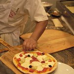 All Luciano's pizza is hand tossed made to order; just the way like it!