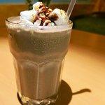 Grownup's Milkshake - rum cream, stout ice cream, homemade chocolate fudge