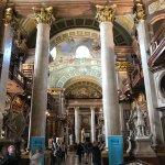 Prunksaal der Österreichischen Nationalbibliothek Foto