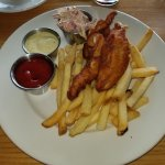Gluten Free Rock Cod fish & chips - very good