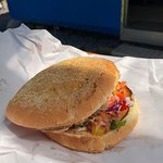 Blue Cod Burger