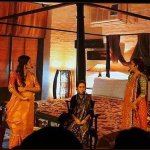"A meaningful moment of the musical show, ""Three Women"" !!"