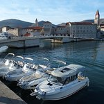 Trogir old town - our base Providenca Charter and Travel - Motor boat charter Trogir Split Croat