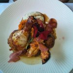 Romesco rubbed chicken - a good size meal