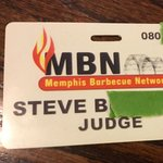 I have a background in judging BBQ