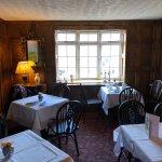 informal dining upstairs