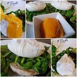 Best Eggs Florentine in town! Free range Breckland brown eggs. #quality #fresh #healthy @8rocksd