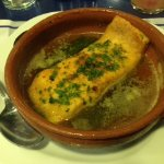 Salmon with butter and parsley