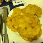 Patacones (fried plantains)