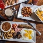 Brunch is served on Saturdays & Sundays, including a build-your-own Bloody Mary bar!