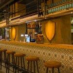 Sfeerfoto van de nieuwe bar