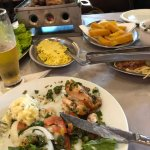 O galeto na mesa