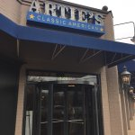 Entrance to Artie's