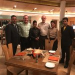 Awesome team from the Marigold Hotel. Thank you for making our stay a pleasure