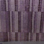 Grout mold between the tiles