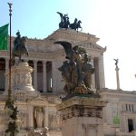 the Piazza Venezia , walking distance from the hotel