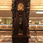 Grandfather Clock in the lobby