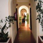 les couloirs de l'hotel