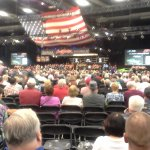 Bidding action at the Barrett Jackson Car Auction
