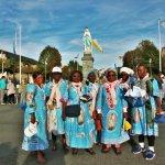 grupe du Gabon_sanctuaire de Lourdes_rosaire d'octobre
