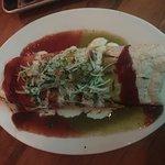 Veggie Meatball Burrito