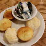 Saturday lunch at Cracker Barrel in St. Joseph.  Delicious!