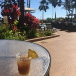 You receive two complimentary Mai Tai's on check in!