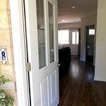 View as you walk in the front door.