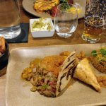 'A little taste of Morocco' - includes a selection of tastes and went well with a pint of Estrel