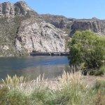 Photo de Los Reyunos Dam