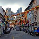 Street by Hotel area