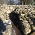 Walk inside the cairn