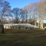 Giant cairn & stone circle