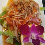 Pad Thai and Papaya Salad