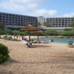 Turtle bay with hotel