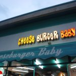 Entrance at Cheeseburger Baby, or is it Cheese Burger Baby?