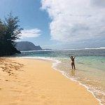 Pali Ke Kua Beach (Hideaway s Beach) Foto