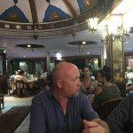 Enjoying Sultan's Turkish Restaurant